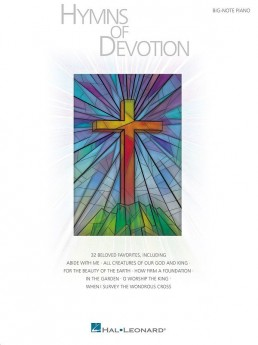 Hymns Of Devotion Big Note Piano
