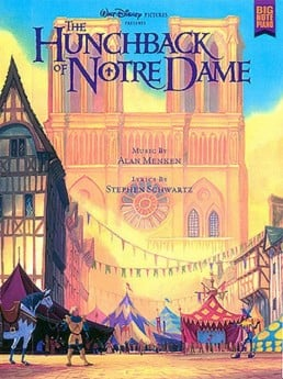Hunchback Of Notre Dame Big Note Piano