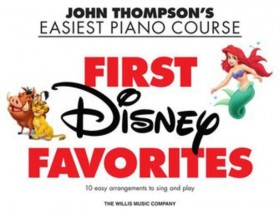 Easiest Piano Course - First Disney Favorites