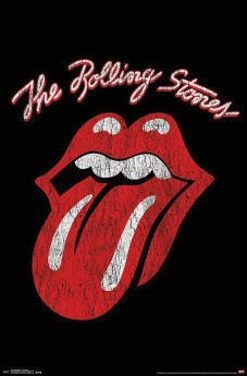 Rolling Stones: Classic Logo - Wall Poster