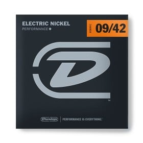 Dunlop 09/42 Nickel Wound Electric Guitar Strings - Extra Light