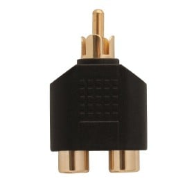 Carson Cable Co 2 X Rca (F) To Rca (M)