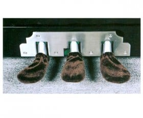 Piano Pedal Cover-Brown (3Pcs)