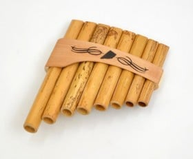 Panpipes Roumaines Curved 8 Note C (C-C)