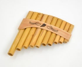Panpipes Roumaines Curved 10Note C (C-E)