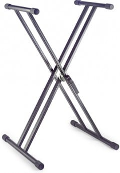 Stagg KXS-20 Steel Double X-shaped Keyboard deluxe Stand
