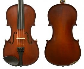 St Romani III by Gliga Violin Outfit with Clarendon - 4/4