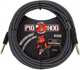 Pig Hog Amp Grill Woven Instrument Cable 20ft
