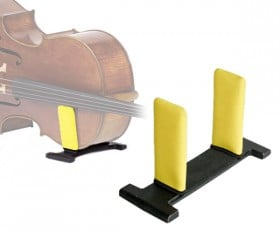 celloGard Model One Security Stand - fitted with Yellow sleeves