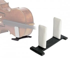 celloGard Model One Security Stand - fitted with White sleeves