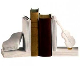 Bookends-One Pair Violin & Piano