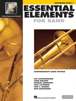 Essential Elements For Band Book1 Trombone Bc Eei