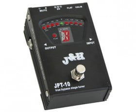 J&H Chromatic Pedal Tuner w/True Bypass