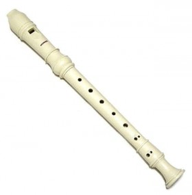 Hohner Melody Line Soprano Descant Recorder in Ivory