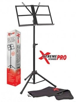 XTREME PRO MS88 Heavy Duty Black Music Stand.