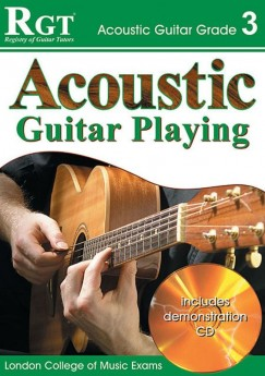 RGT ACOUSTIC GUITAR PLAYING GR 2 Book & CD