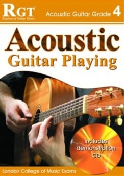 RGT ACOUSTIC GUITAR PLAYING GR 3 Book & CD
