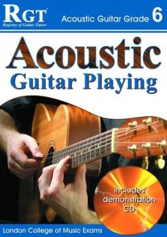 RGT ACOUSTIC GUITAR PLAYING GR 5 Book & CD