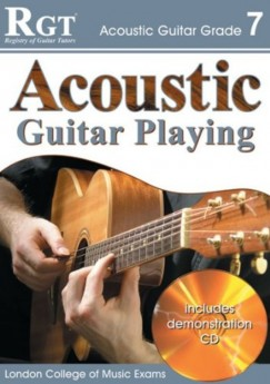 RGT ACOUSTIC GUITAR PLAYING GR 6 Book & CD