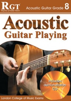 RGT ACOUSTIC GUITAR PLAYING GR 8 Book & CD