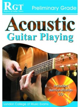 RGT ACOUSTIC GUITAR PLAYING INITIAL Book & CD