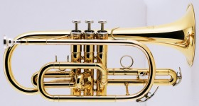 J.Michael CT420 Cornet (Bb) in Clear Lacquer Finish