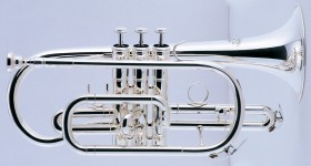 J.Michael CT470S Cornet (Bb) in Silver Plated Finish