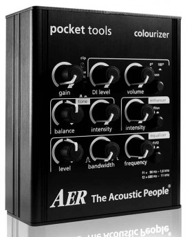 """AER """"Colourizer"""" Pocket Tool Preamp/Direct Box for Line & Mic Input"""