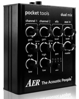 """AER """"Dual Mix"""" Pocket Tool Two Channel Preamp with Effects"""