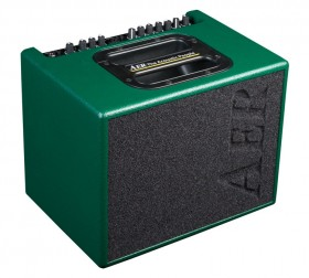 """AER """"Compact 60"""" Acoustic Instrument Amplifier in British Racing Green Spatter Finish (60 Watt)"""