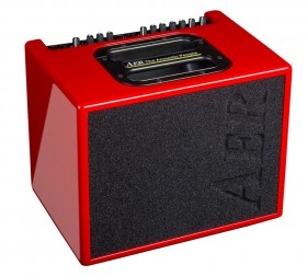 """AER """"Compact 60"""" Acoustic Instrument Amplifier in Red Gloss Finish (60 Watt)"""