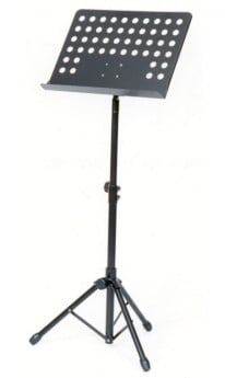 AMS Music Stand Heavy Duty Black