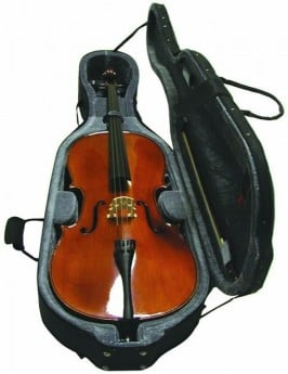 STENTOR 4/4 Size Cello Outfit Antique Chestnut