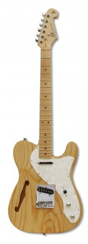 ESSEX Tl Thin Line Style Gtr S-S Natural Gloss Sw-Ash