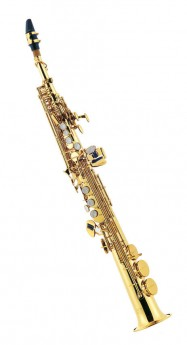 J.Michael SP650 Soprano Saxophone (Bb) in Clear Lacquer Finish