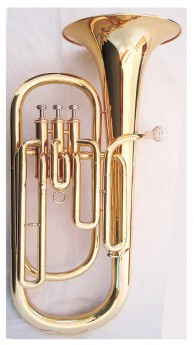 J.Michael TH650 Tenor Horn (Bb) in Clear Lacquer Finish