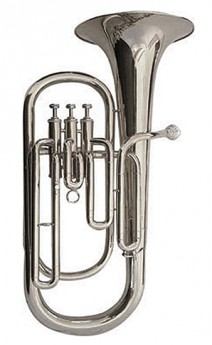 J.Michael TH750S Tenor Horn (Bb) in Silver Plated Finish