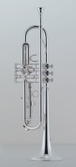 J.Michael TR300S Trumpet (Bb) in Silver Plated Finish