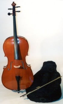 STENTOR 4/4 Size Cello Outfit