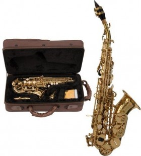 BALLED SOPRANO SAX - CURVED BELL