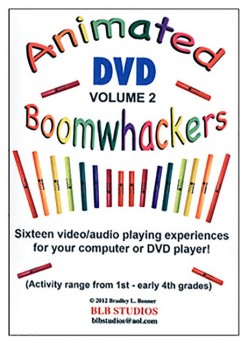 """Boomwhackers """"Animated Boomwhackers Volume 2"""" DVD Only"""
