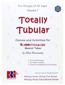 """Boomwhackers """"Totally Tubular Volume 1"""" Book/CD"""