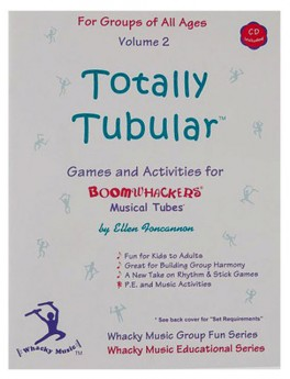 """Boomwhackers """"Totally Tubular Volume 2"""" Book/CD"""