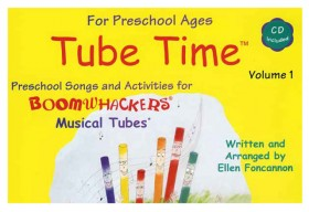 """Boomwhackers """"Tube Time Volume 1"""" Book/CD"""