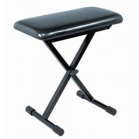 BX9 SMALL KEYBOARD BENCH W/COMPACT VINYL SEAT