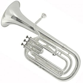 01-BE157-2-0 Besson Bb Baritone Horn Silver Plated