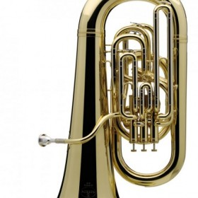 01-13670 BE982-1 Besson Sovereign EEb Tuba Outfit 4 Valves Compensating Lacquer