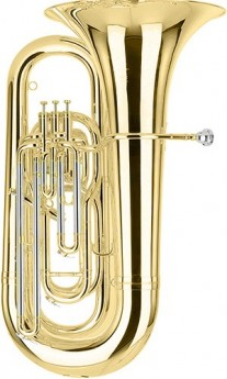 01-13730 BE994-1 Besson Sovereign BBb Tuba Outfit 4 Valves Compensating Lacquer