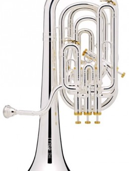 01-13471 BE2056-1-0 Besson Prestige Baritone Outfit Compensating 4 Bottom Spring Stainless Steel Valves Lacquer