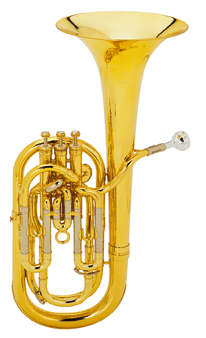 01-13450 BE955-1 Besson Sovereign Bb Baritone Outfit 3 Valves Compensating Lacquer